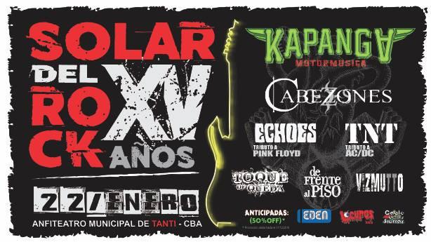 """15 años del Festival """"Tanti Solar del Rock"""""""