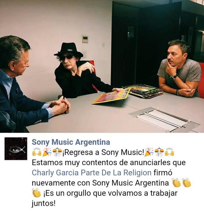 """Adelanto del nuevo disco de Charly García: """"La máquina de ser feliz"""""""