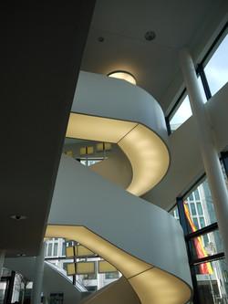 Stair and lighting