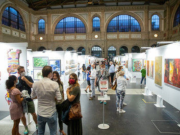 Swiss Art Expo 2021 : The Artbox Project.