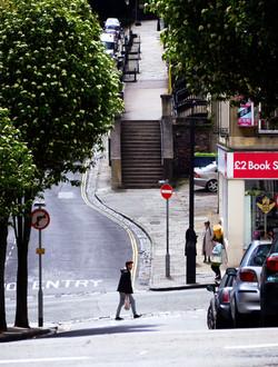 Park street - deserted