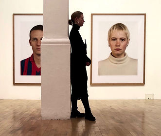 portaits by thomas ruff by George Redgra