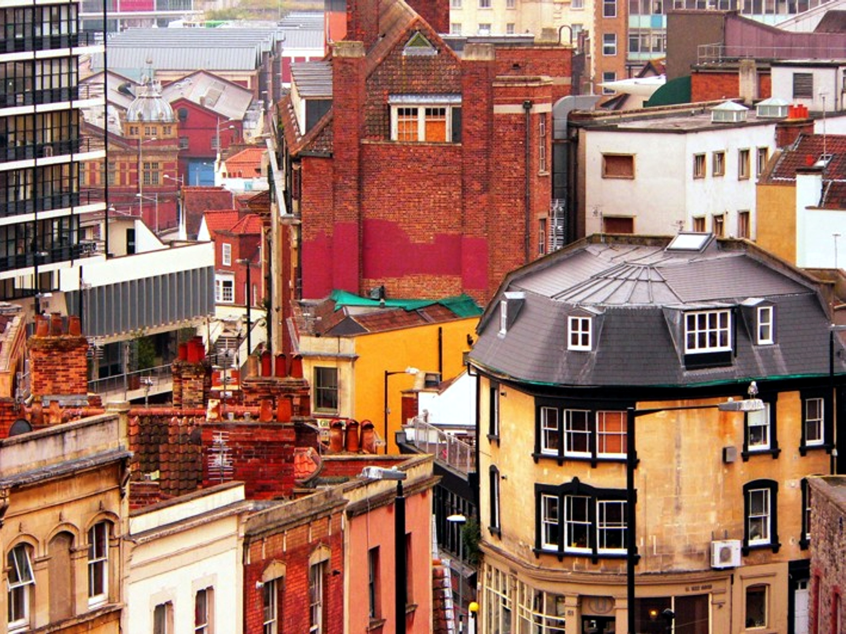 Bristol roofscape