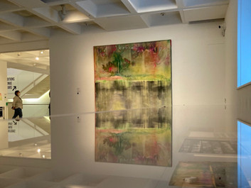 'Land of many waters'.  Paintings by Frank Bowling at the Arnolfini, Bristol.