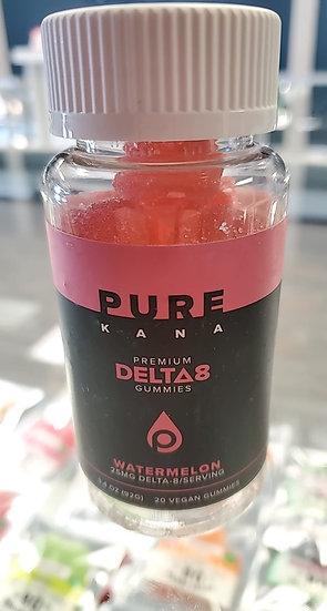 Purekana D8 watermelon gummy