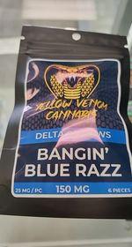 YV Blue Raspberry gummie
