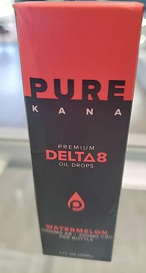 Purekana D8 oil watermelon 1000mg