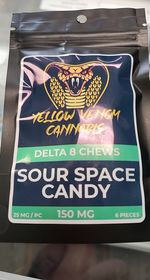 YV sour space candy gummie Delta8