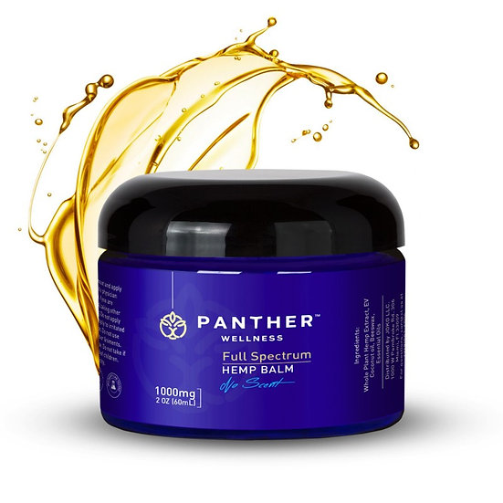 Panther Wellness 1000mg no scent Balm