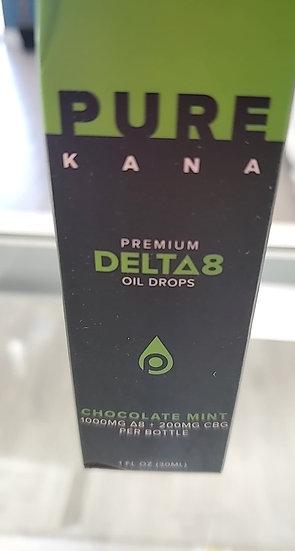 Purekana D8 Chocolate Mint oil 1000mg