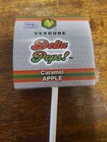 Caramel apple lollypop D8