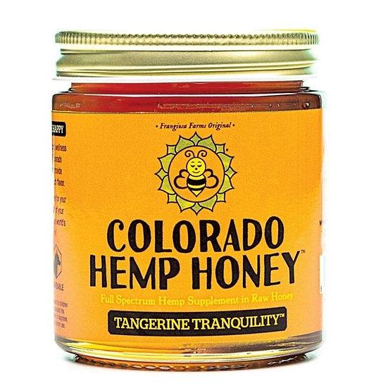 Tangerine Hemp Honey 500 mg per 6 oz
