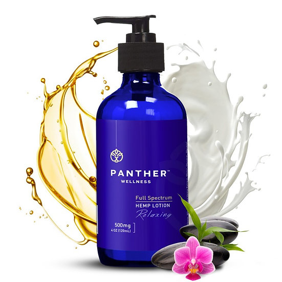 Panther Wellness 500 mg Relaxing Lotion