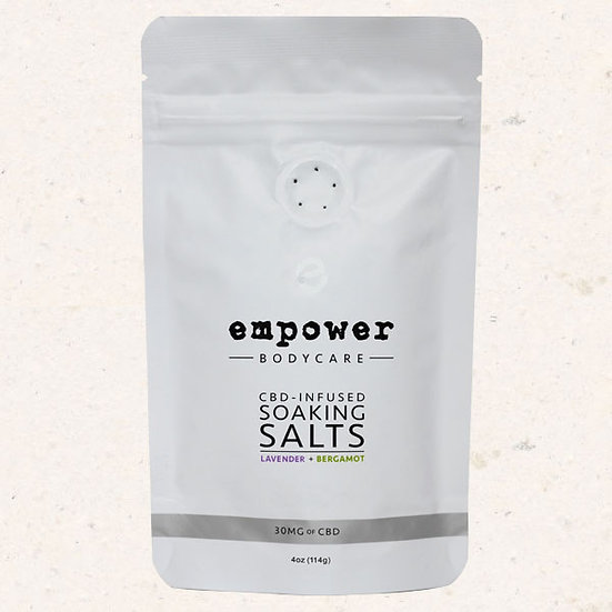 Empower Bath Soaking Salts 4oz 30 mg CBD