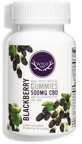 Wyld Blackberry gummies 500 mg