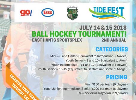 Enfield RFC Hosting Tide Fest Ball Hockey Tournament! Register a Team Now!