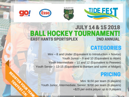 Enfield RFC Hosting Tide Fest Ball Hockey Tournament! Register a Team Now!