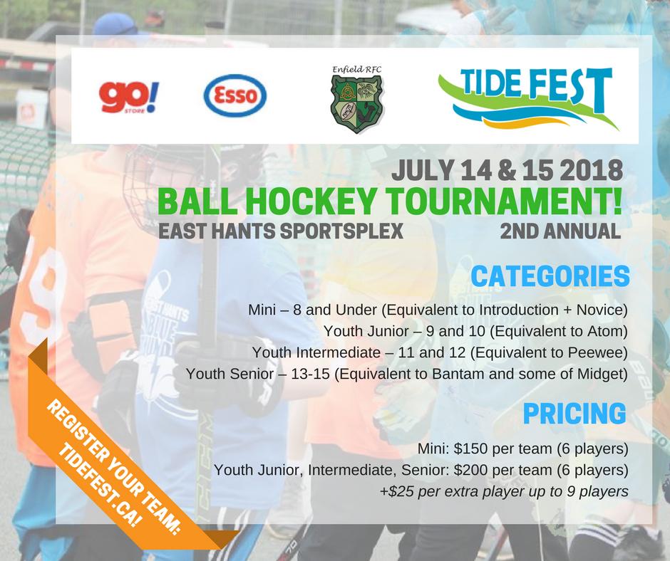2018 Tide Fest Ball Hockey