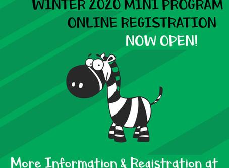 Enfield RFC Winter 2020 Mini Program