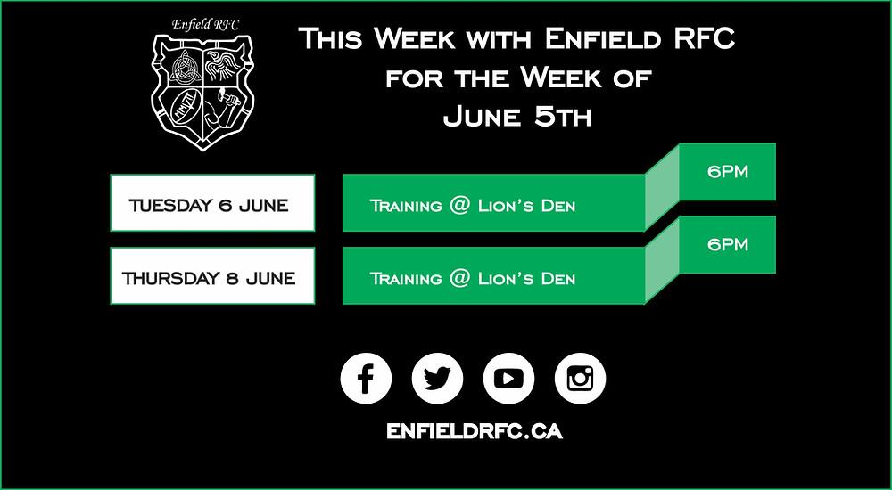 Enfield RFC June 5th, 2017