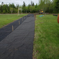 Covered drainage in north try zone