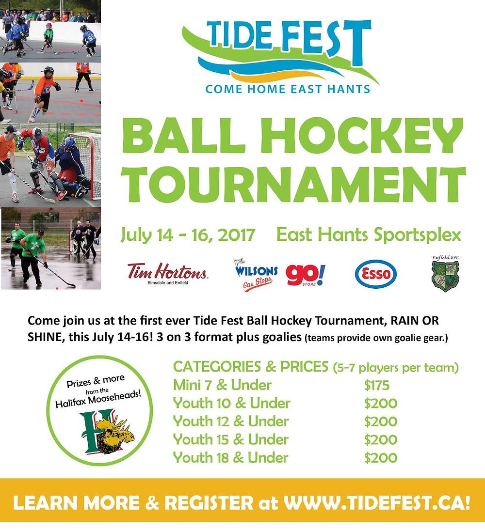 East Hants Tide Fest Ball Hockey Tournament