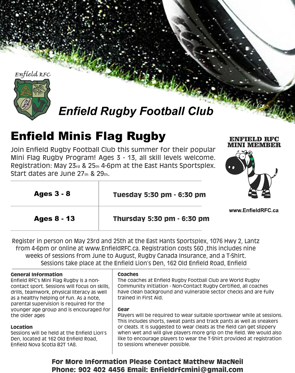Enfield RFC Mini Rugby 2017