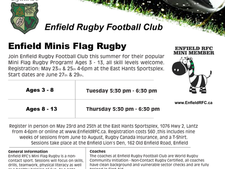Mini Rugby Registration