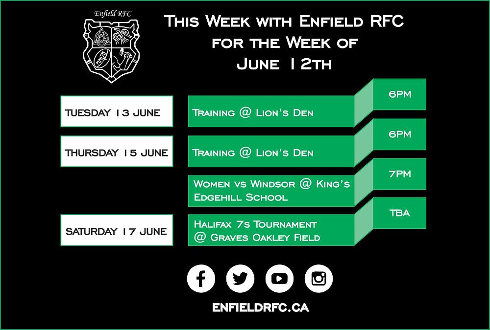 Enfield RFC June 12th, 2017