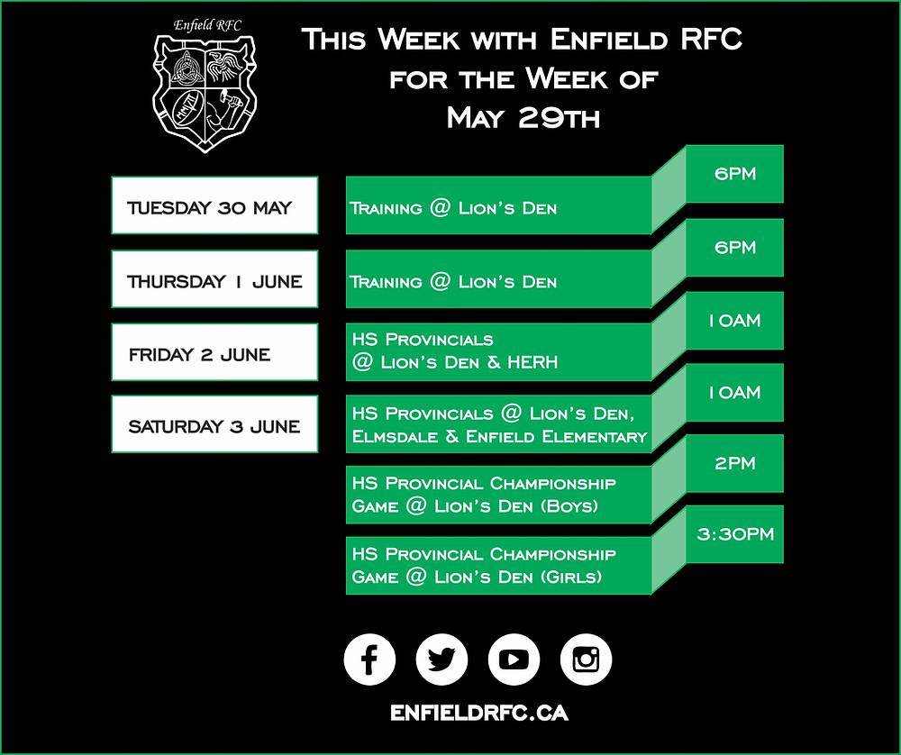 Enfield RFC May 29th, 2017