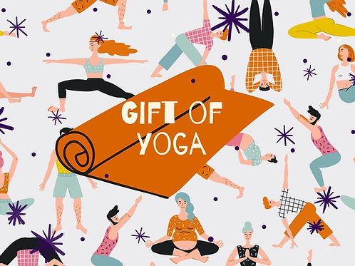 Gift of Yoga busy class