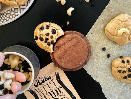 My favourite 3 ingredients cookies