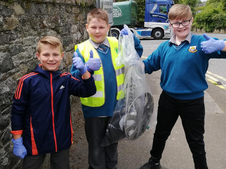 National Spring Clean Day 5th Class