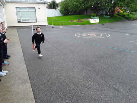 Active week in Senior Infants