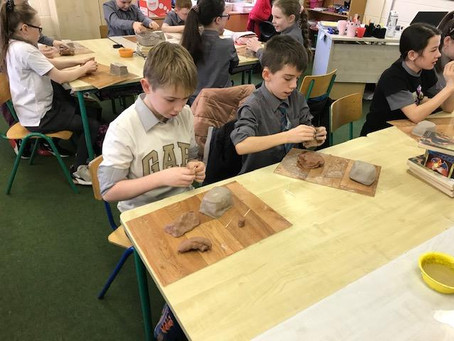 Famine Clay Cottages- Rang a Cúig!