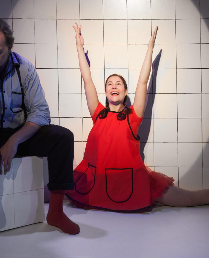 Christoffer Lillman og Emma Silja Sångren i rollerne som Far og Datter