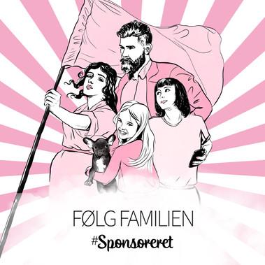 Følg familien #Sponsoreret