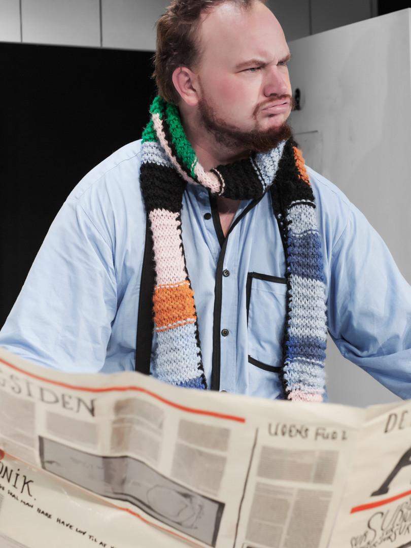 Christoffer Lillman i rollen som Far