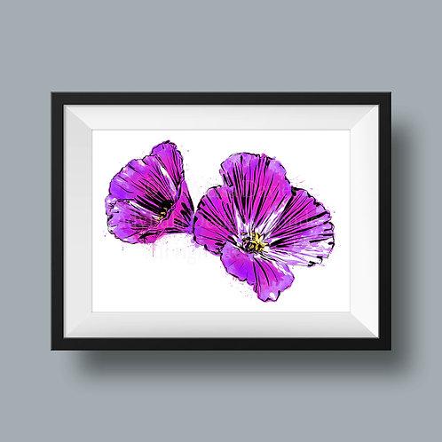 Purple Punch Flower