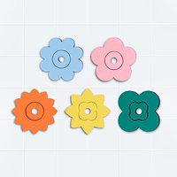 Puzzle de bain fleurs