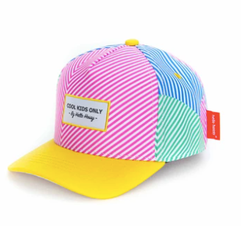 Casquette Stripes Hello Hossy