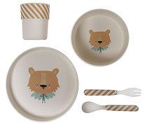 Set vaisselle Lion