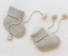 Chaussons Taupe