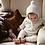Thumbnail: Bonnet Baby alpaga- Beige