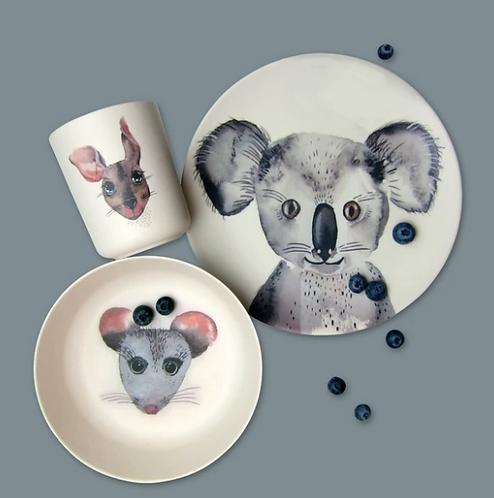Set vaisselle bambou - Koala
