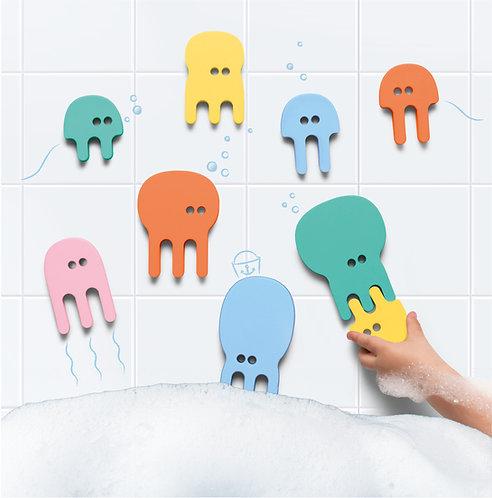 Puzzle de bain méduse