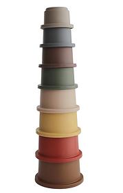 Set de gobelets empilables - retro