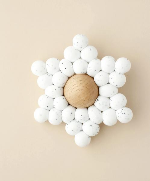 Star - speckle white