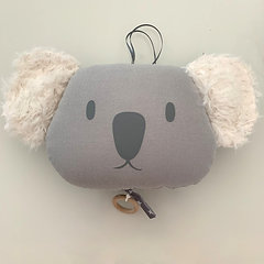 Boîte à musique Koala gris