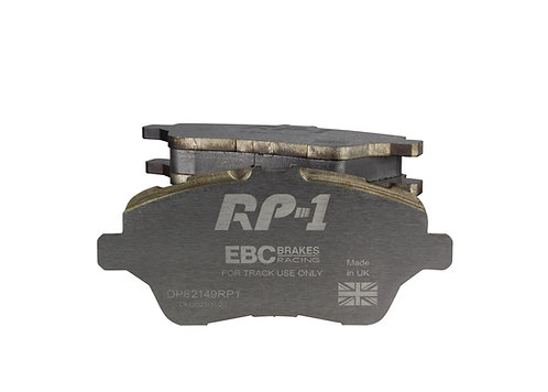 EBC Racing RP-1 and RP-X Track And Race Front Brake Pads
